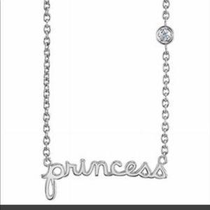 Jewelry - Syd by Sydney Evan silver dia princess necklace👠